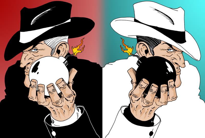 Ok, PANIC!: Spy vs. Spy