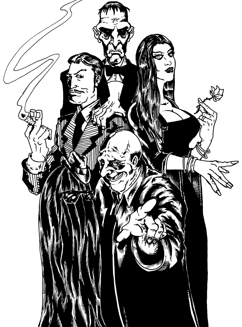 Ok, PANIC!: Addams Family