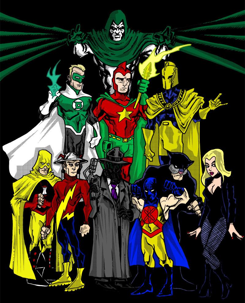 Ok, PANIC!: Golden Age Heroes