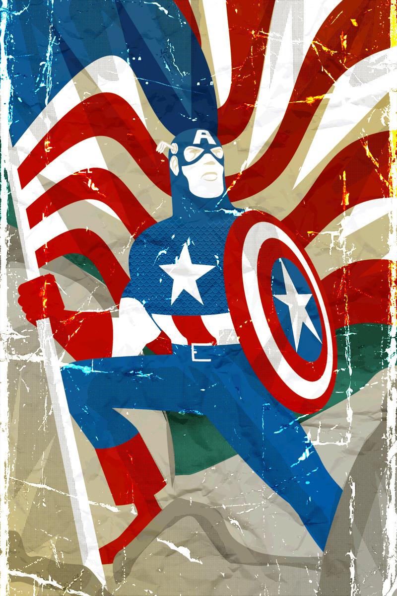 Ok, PANIC!: Captain America