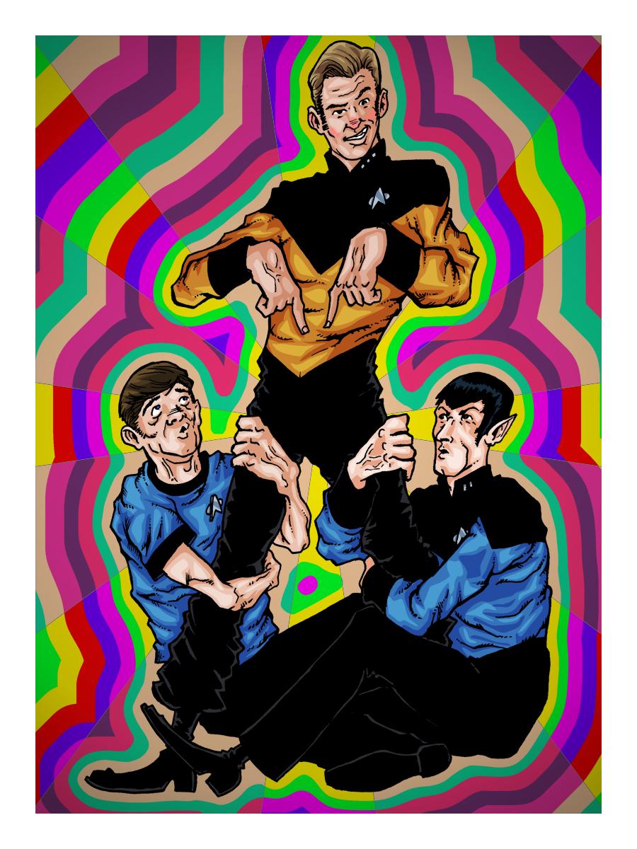 Ok, PANIC!: Star Trek