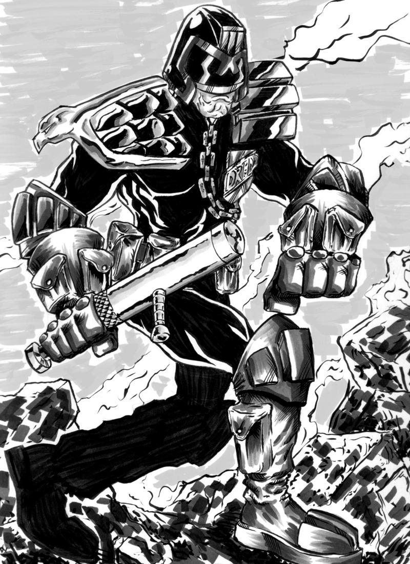 Ok, PANIC!: Judge Dredd
