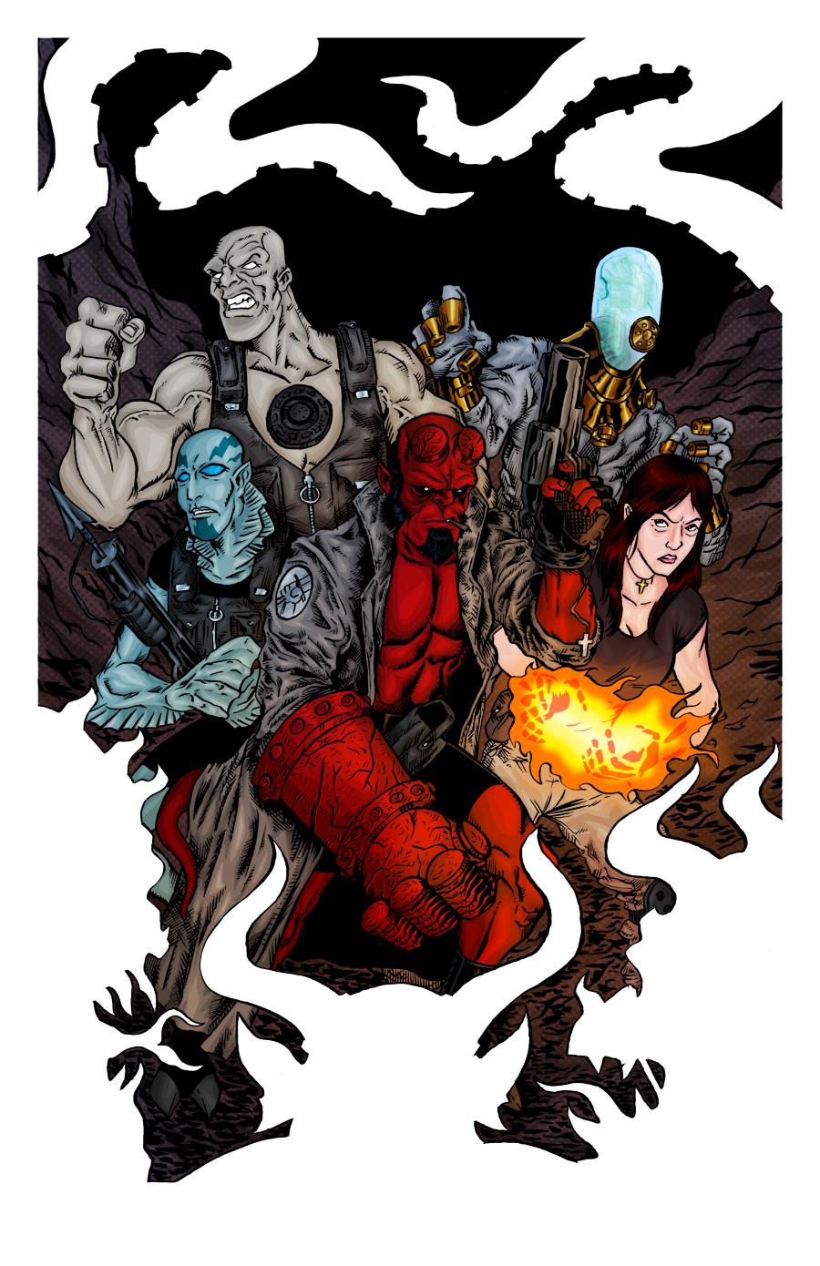 Ok, PANIC!: Hellboy & The BPRD