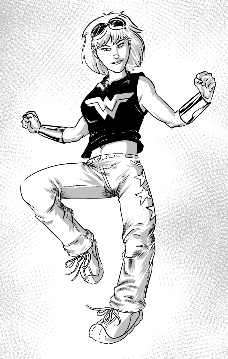 1460. Wonder Girl