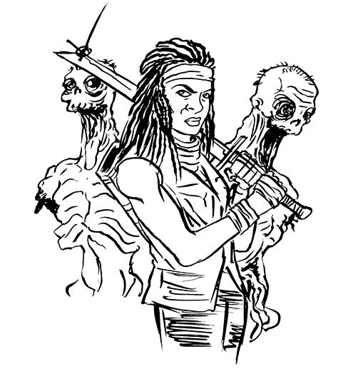 371. Michonne