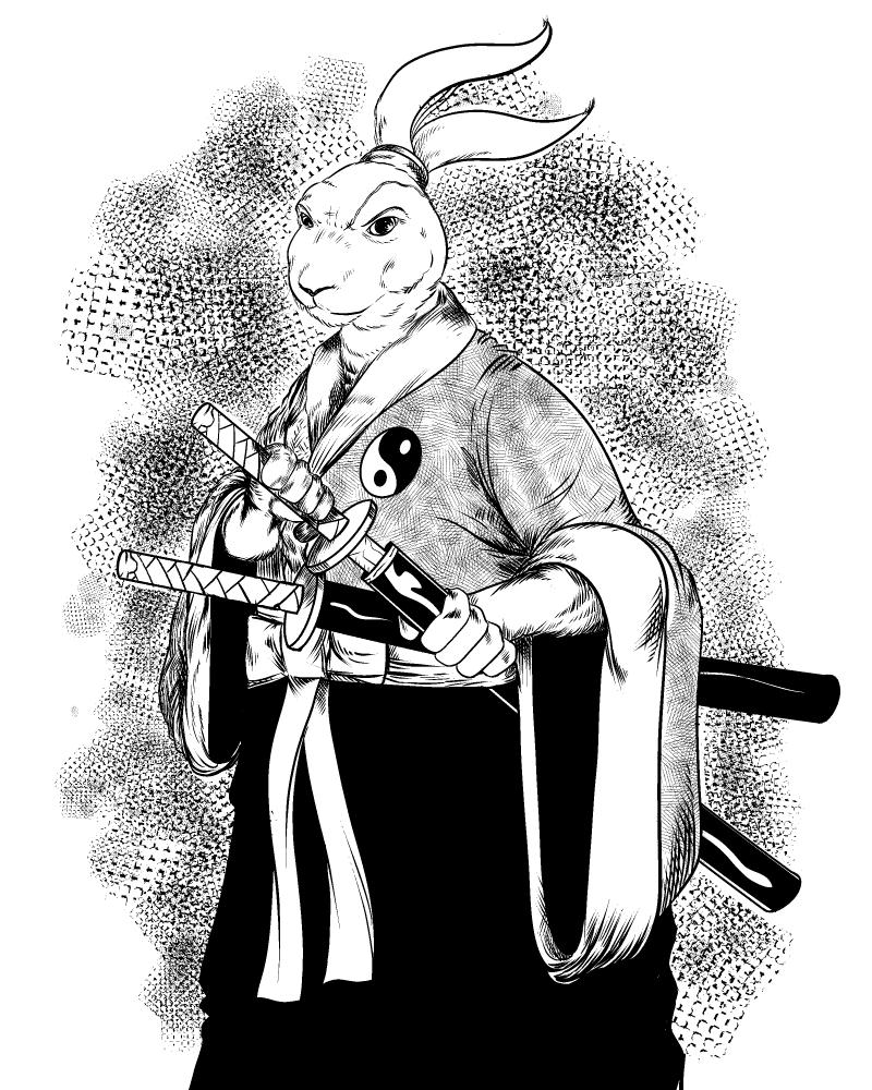 1467. Usagi Yojimbo
