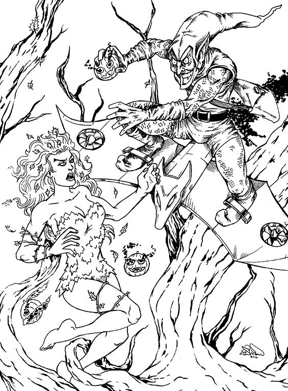 378. Poison Ivy vs. Green Goblin
