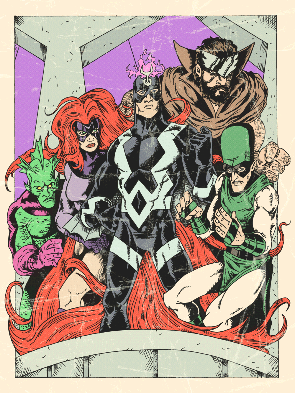 400. The Inhumans