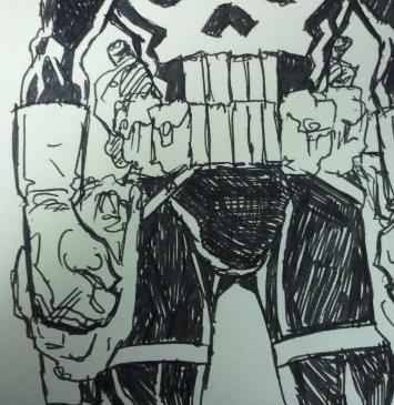 46. The Punisher's balls