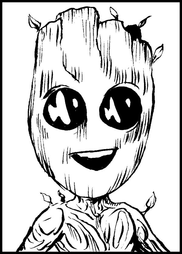 784. Baby Groot