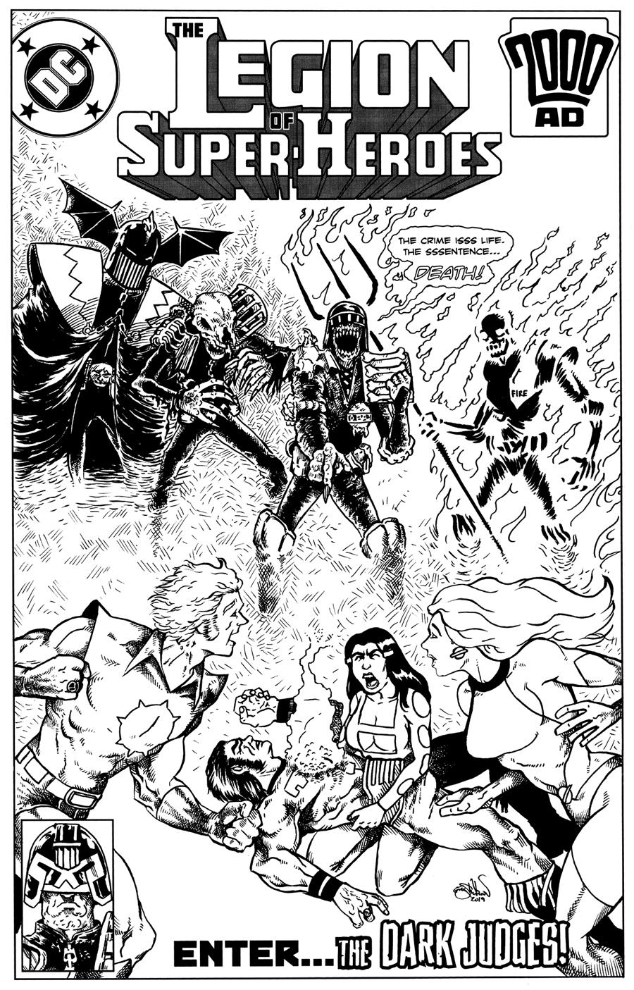 Legion of Super-Heroes vs. The Dark Judges