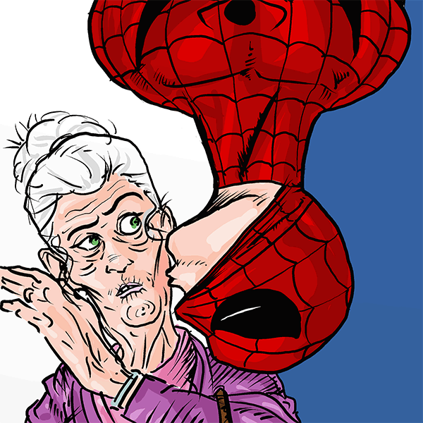 1166. Spider-Man and Aunt May