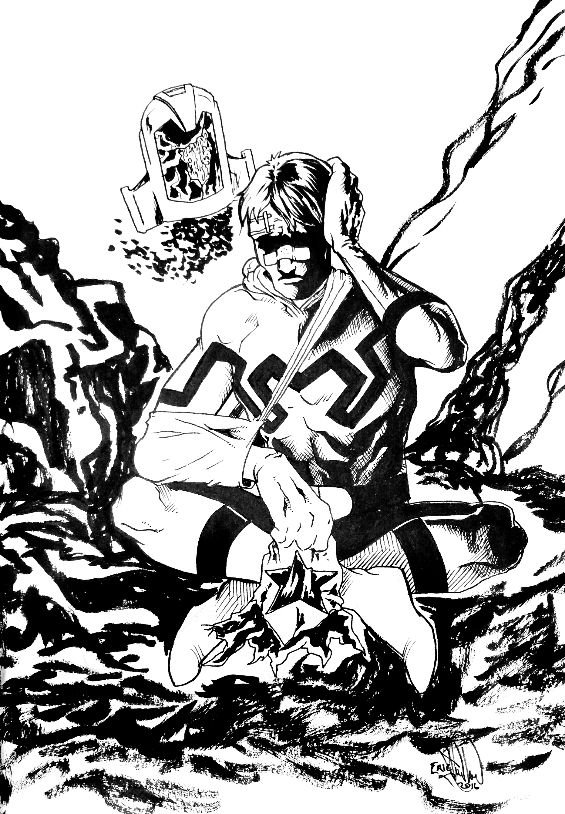 442. Blue Beetle: The Day After