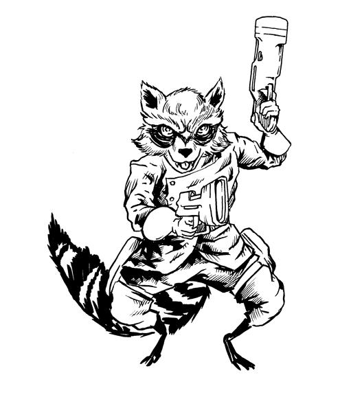 443. Rocket Raccoon