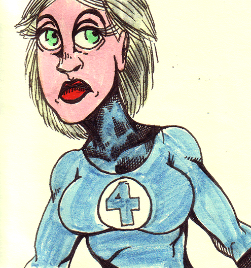 85. Invisible Woman