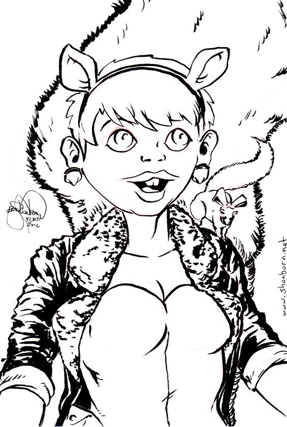 458b. Squirrel Girl