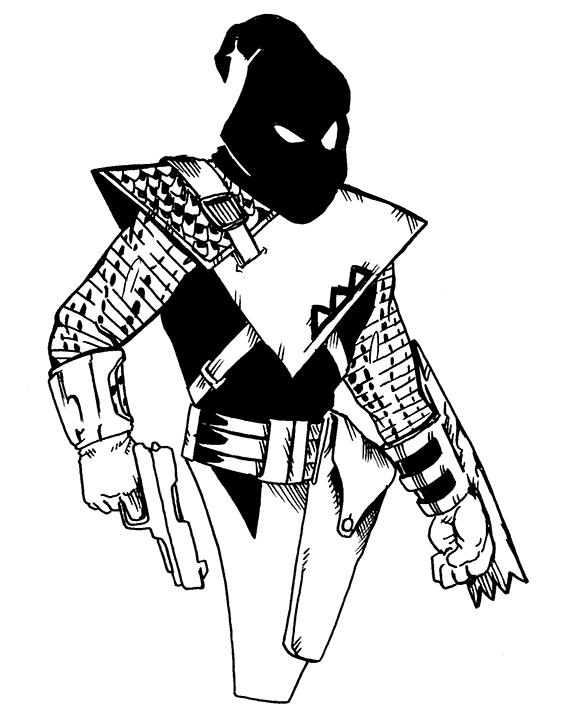 120. The Black Hood