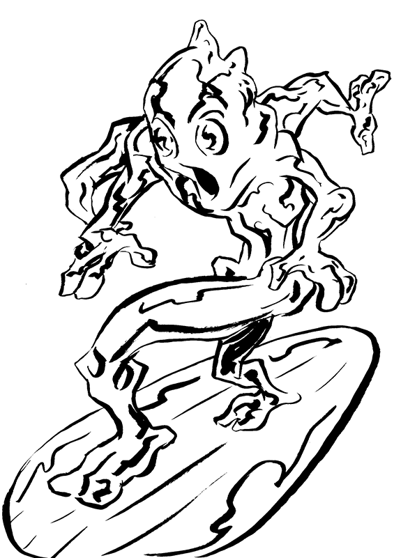 518. Silver Surfer