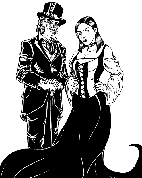 156. The Baron and Baroness