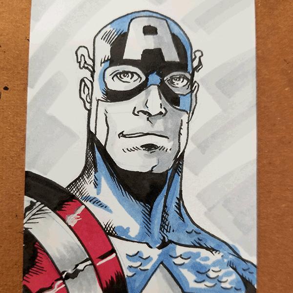 1263. Captain America