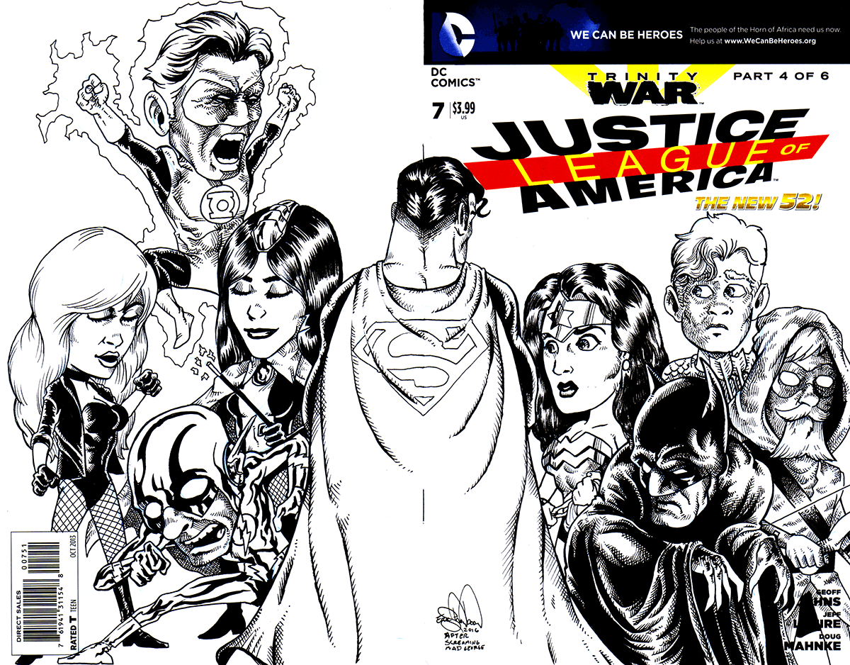 545. Justice League of America