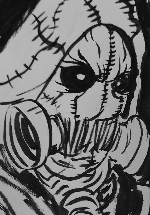 912. Scarecrow
