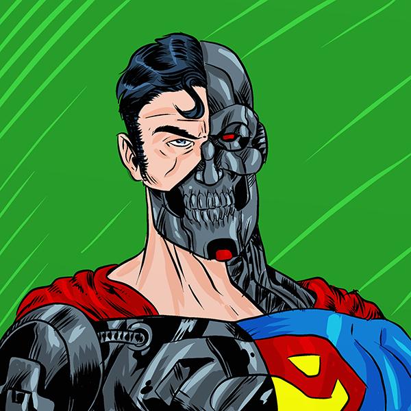 1318. Cyborg Superman