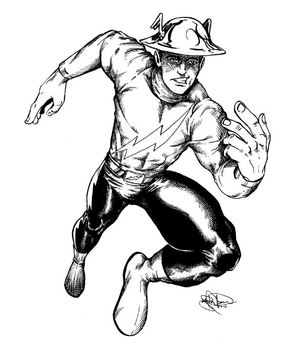 591 The Flash Shonborns Art Blog