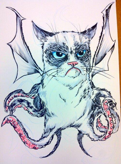 231. Grumpy Cat'hulu