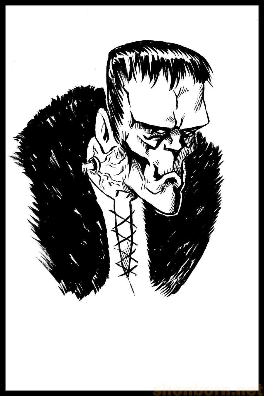 7. Frankenstein's Monster