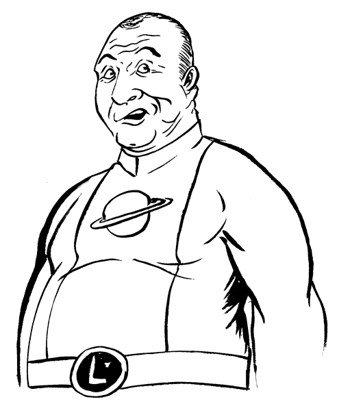 618. Saturn Girl