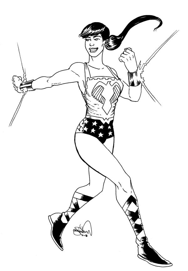 1350. Wonder Girl