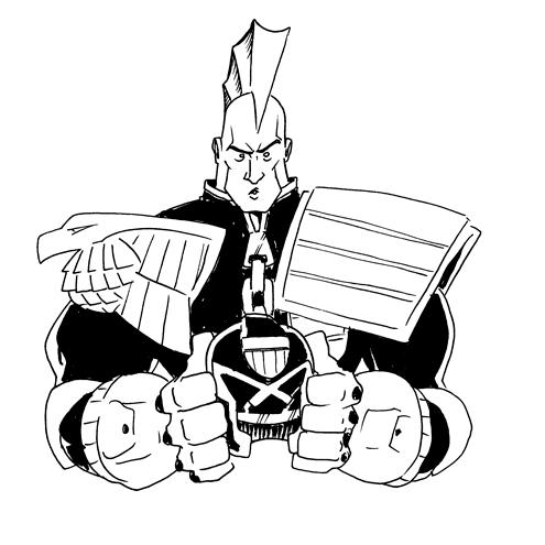 631. Judge Dredd
