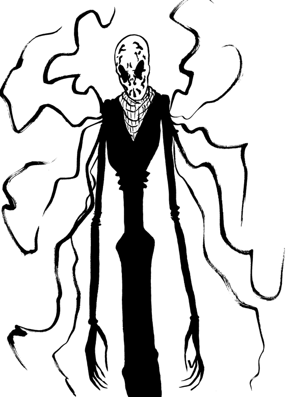 269. Slenderman Rorschach