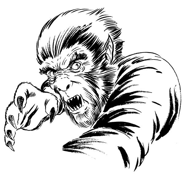 1002. Wolf-Man