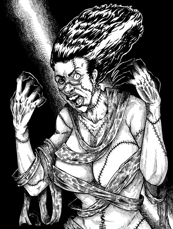 1368. The Bride of Frankenstein