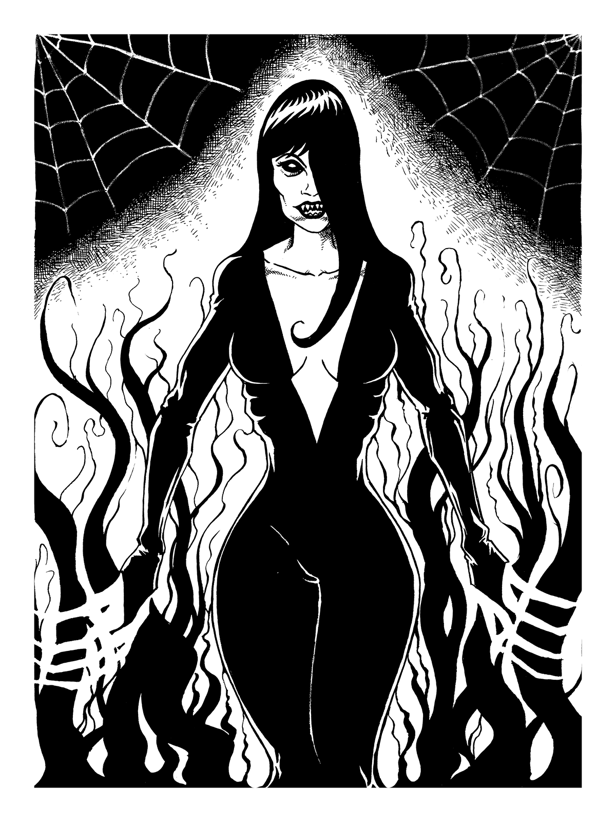 640. Spooky Lady