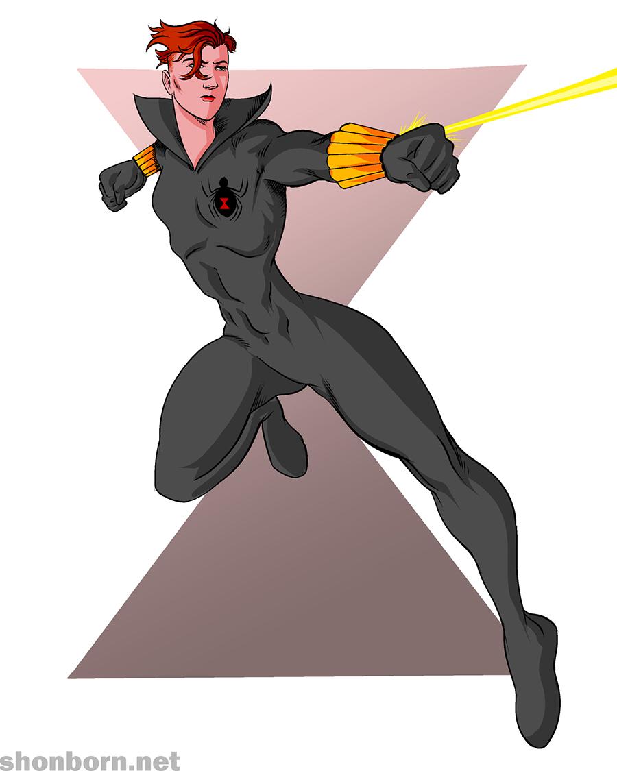 37. Black Widow
