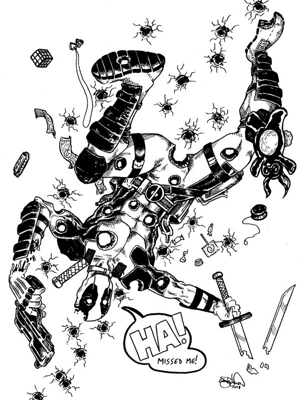 1378. Deadpool