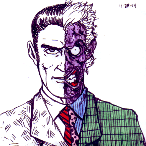 658. Two-Face