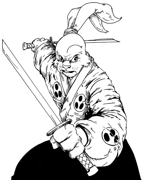 301. Usagi Yojimbo