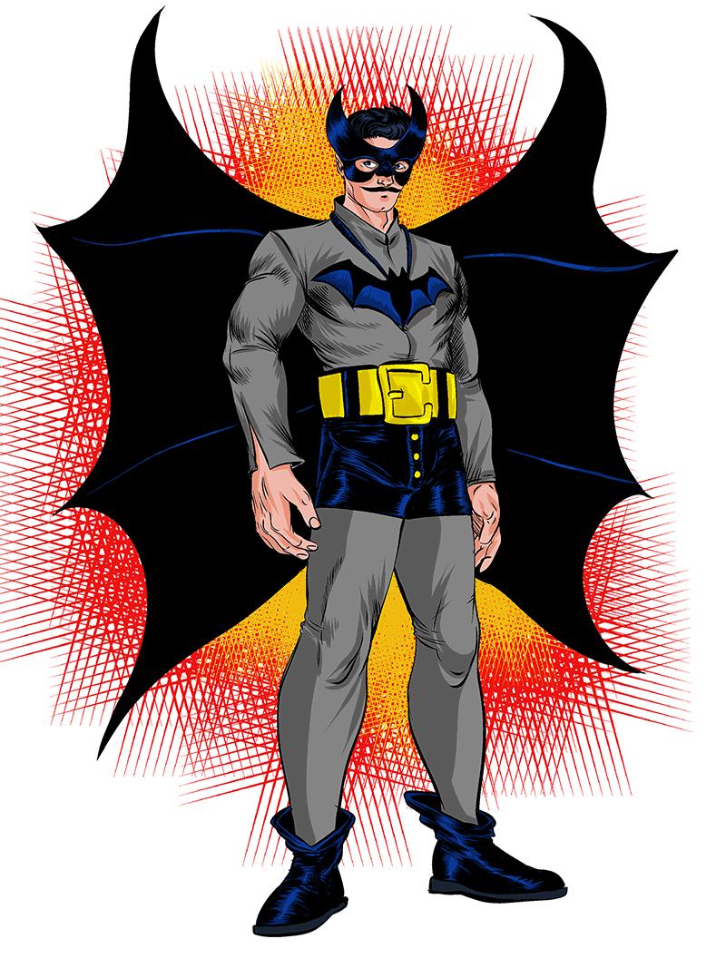 1400. The First Batman