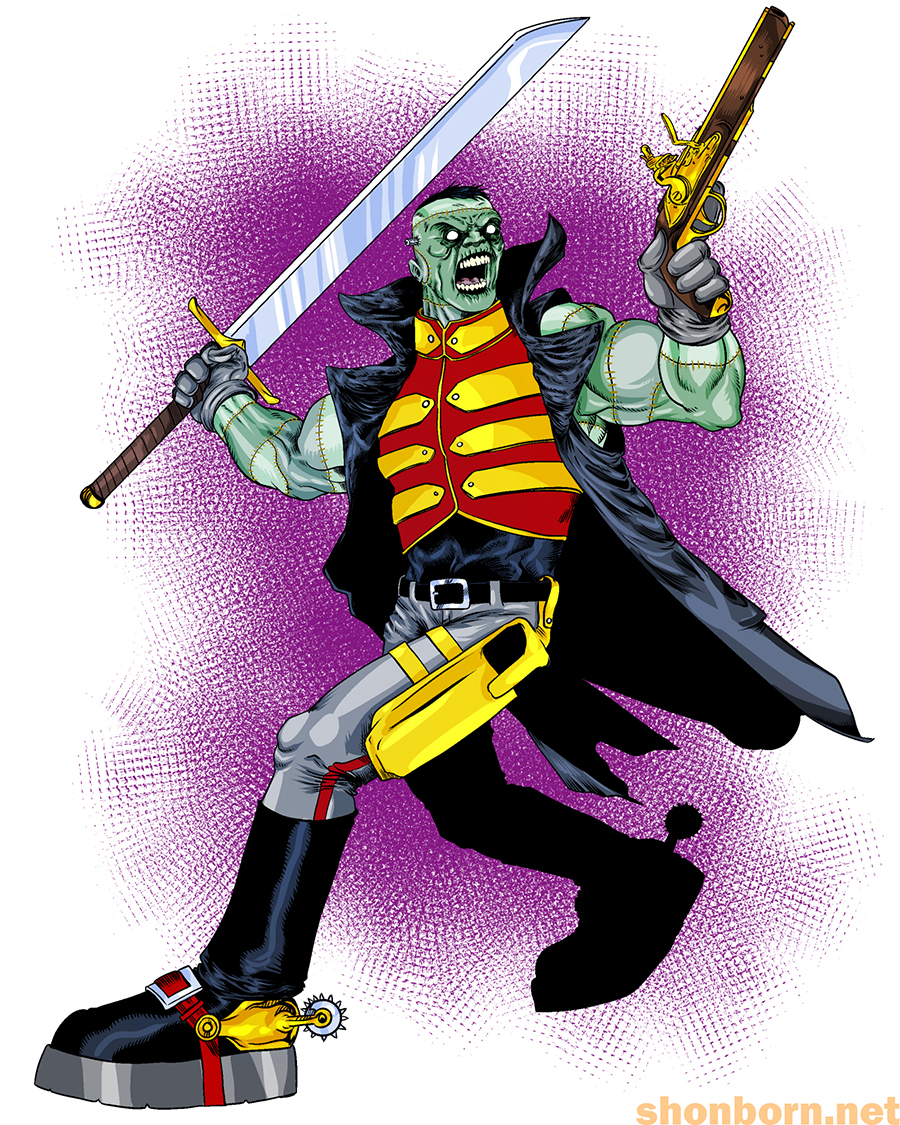66. Frankenstein, Agent of S.H.A.D.E