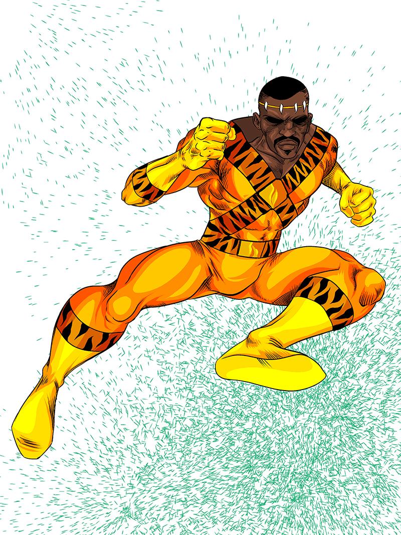 1421. Bronze Tiger