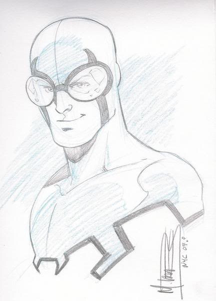 Blue Beetle by Mike Norton