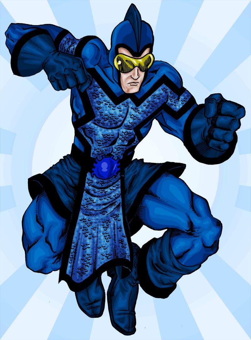 100 – Golden Age Blue Beetle
