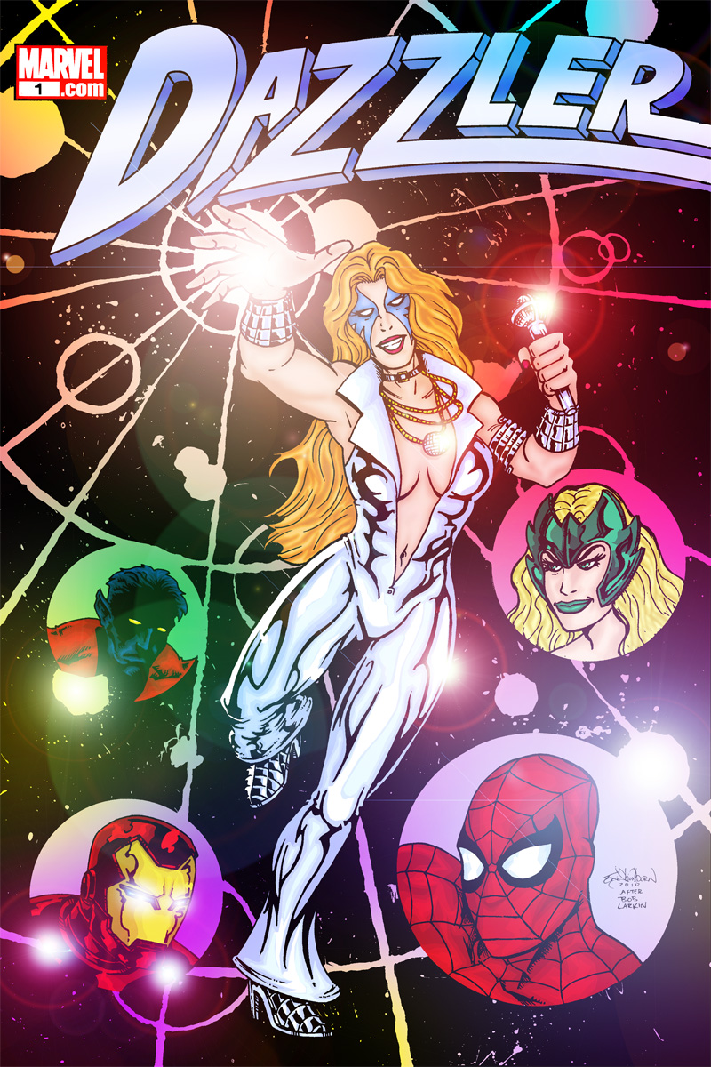 Dazzler Cover Recreation