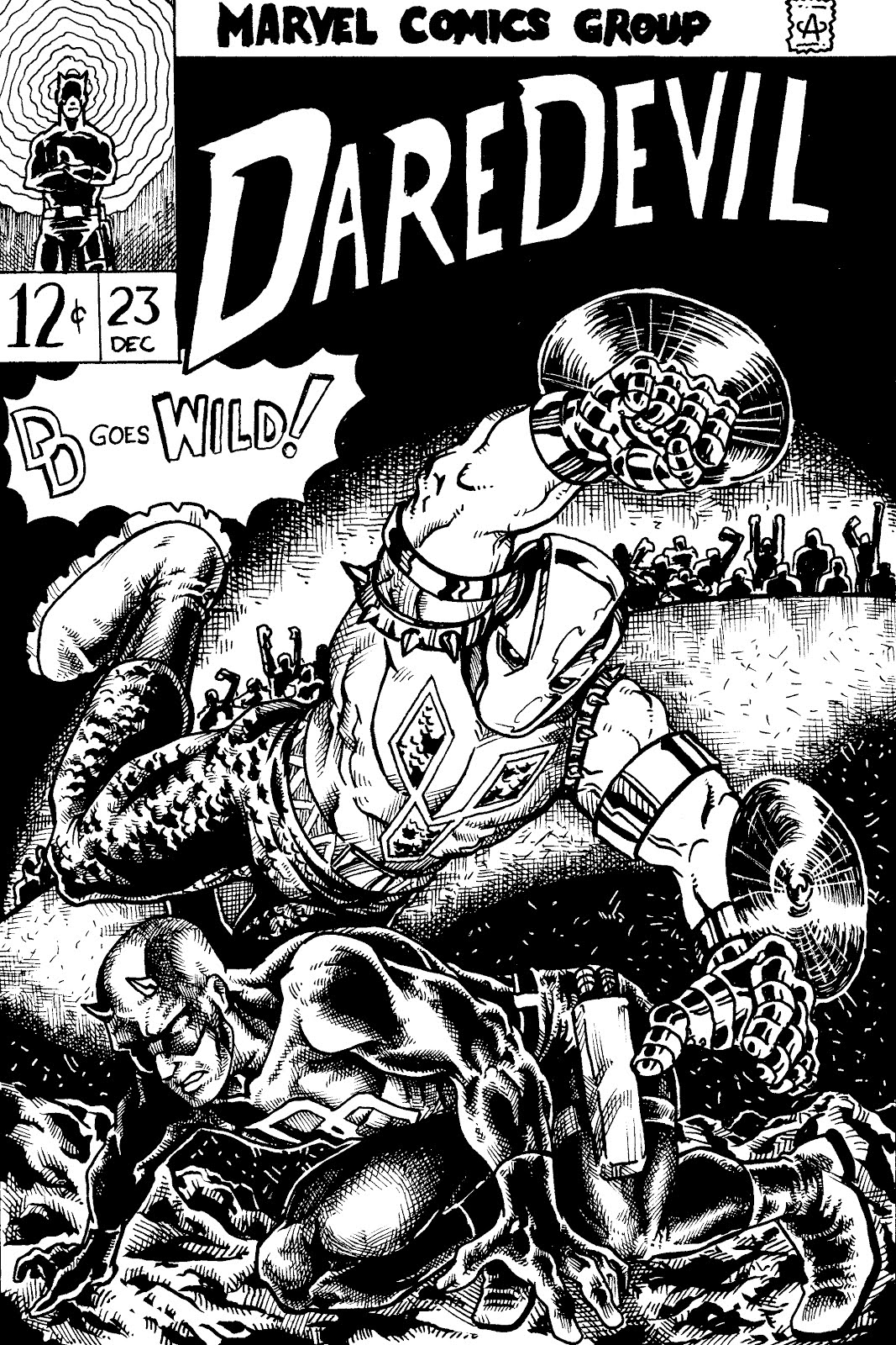 Rejected By Covered: Daredevil #23