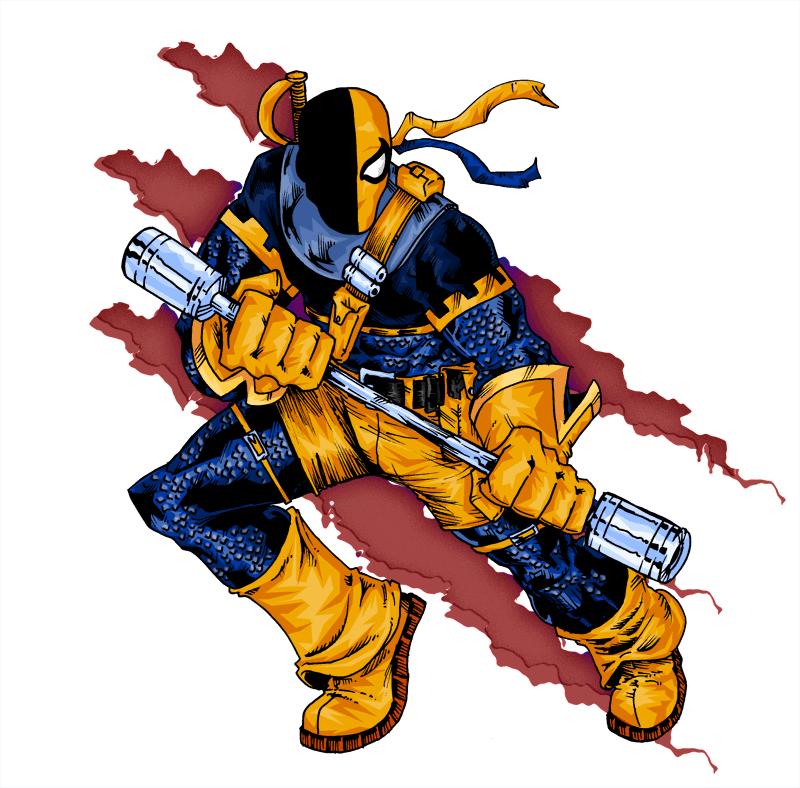 Deadpo- I mean – Deathstroke!