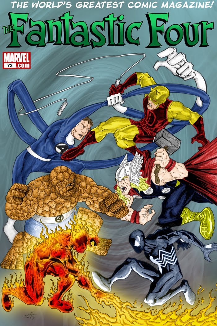 Covered: Fantastic Four #73